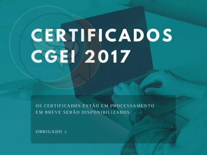 CERTIFICADOS cgei 2017